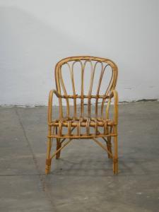 70年代柳条自行车椅