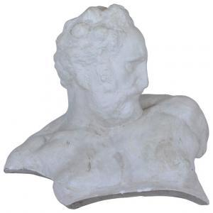 Busto in gesso raffigurante CREPUSCOLO DI MICHELANGELO