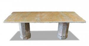 Antique stone table. Epoch 1800