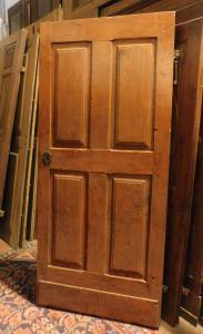 pti513 porta in legno di frutto, mis. h cm 203 x 90 cm
