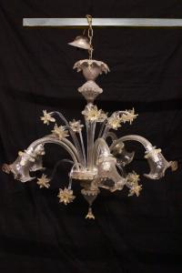 Murano glass chandelier, half of the 20th century