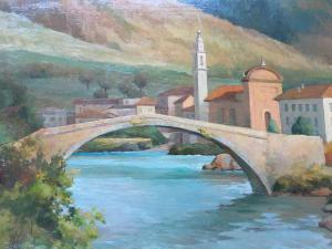 Painting landscapeGiuseppe Talamoni