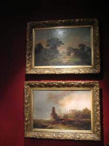 Pair of landscapes mid-800s