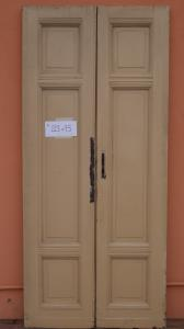 DOOR WITH TWO DOORS IN WALNUT MASSELLO '800 PANEL PORTONI WITH 95x213 N4