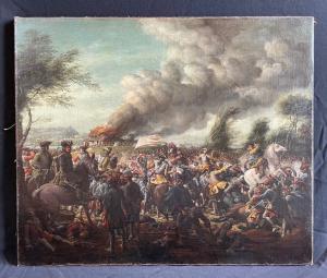 Batalla de Staffarda 1690 firmado RL