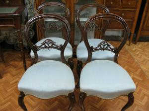 4 Filippo chairs