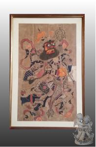 JAPANESE PAINTING ON PAPER 900