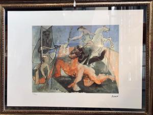 Litografia di Pablo Picasso