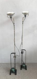 Pair of floor lamps by Achille Castiglioni