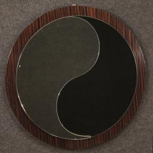 意大利设计的红木镜子