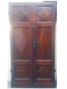 porta in noce