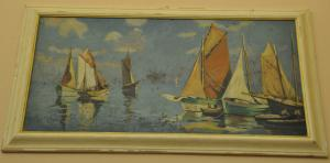 Dipinto Barche