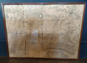 Mappa del Lazio XVII sec.