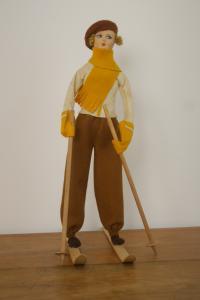лыжник pannolenci Турин в 30-е годы