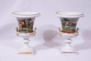 Pair of Empire vases, France, 19th century
