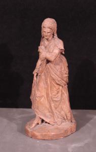 Focardi Giovanni(佛罗伦萨1848-1903)-散步的女士