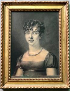 绘图描绘一个女性形象。