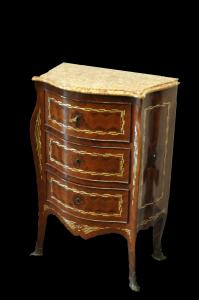 Pair of Louis XIV bedside tables