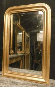 specc245-镀金简易镜子,厘米l 45 xh 68