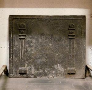 p157 piastra con colonne. mis. cm 51 x h 42, epoca fine '700