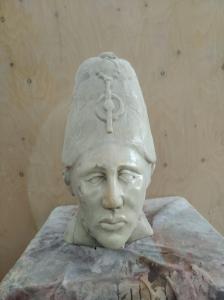 Cabeza de mármol de Carrara