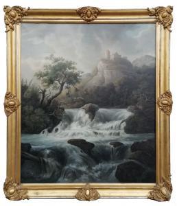 景观与瀑布