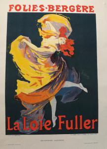 Litografia - Loie Fuller