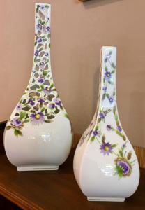 Coppia vasi Herend da collezione