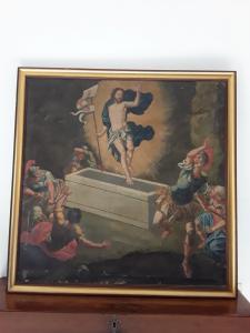 复活的基督框架没有日期和签名的保罗·皮克西特1692 106x106无框架96x96