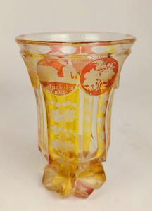 Bicchiere Boemia XIX secolo