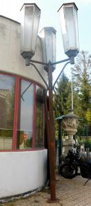 """dars366-n. 3 """"Spritzen"""" -Lampen, cm l 180 x h 320"""