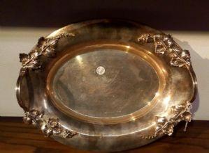 Vassoio in argento