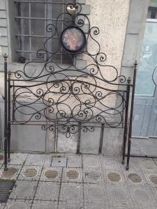 19世纪初在卢卡的床,l155具极大魅力的锻铁全青铜粉彩保证法律条款