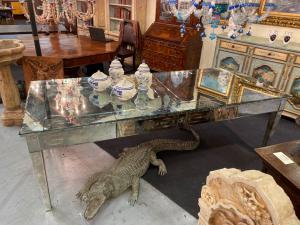 Tavolo in vetro di Murano 250x104x80h
