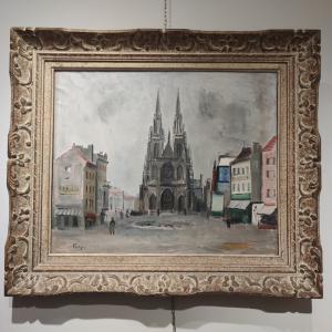 La cattedrale di Ostenda. Giuseppe Flangini.