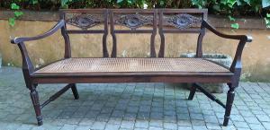 Divano canapè antico Luigi XVI