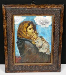 La Madonna del Riposo Óleo sobre tabla