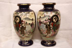 Vases in Japanese porcelain, half of '900.