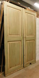 ptl544 - лакированная двустворчатая дверь размером 166 см x 252 см x высота. 3.5