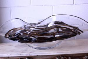 Vaso in vetro di Murano firmato Sergio Costantini certificato