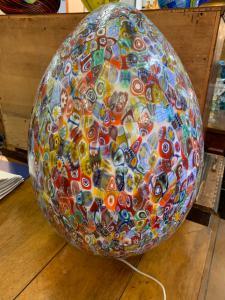 Лампа из муранского стекла