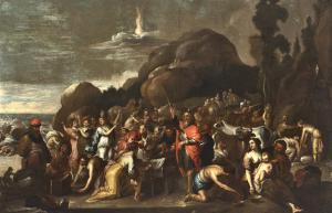 Свидетельство Моисея - Винсента Мало (Камбрай 1606/1607 - Рим 1650 г.)