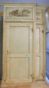 ptl497 - cuatro puertas lacadas con sobrepuerta pintada, l 120 xh 280