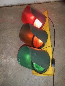 semaforo stradale anni 80