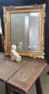 Espejo dorado Luis XIV. Francia