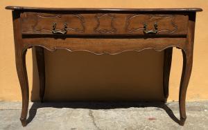 consolle in legno di noce del 1700 Reggio Emilia