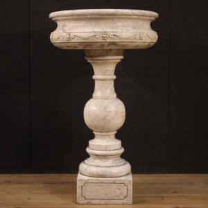 Fioriera italiana in marmo