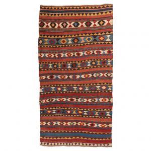 Alte Manufaktur kaukasischer Kelim SHIRVAN - nr. 896 -