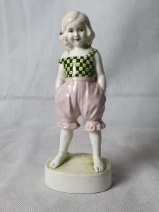 Goldscheider  bambina 1920