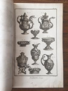 Raccolta di tavole Encyclopedie Diderot et D'Alambert